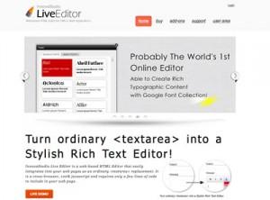 InnovaStudio LiveEditor