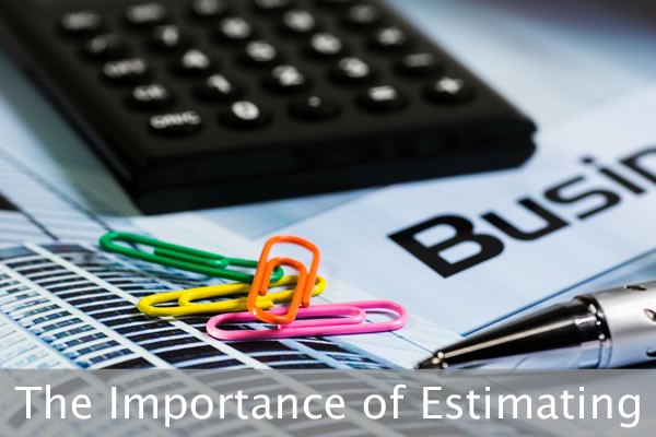 Importance Of Estimating