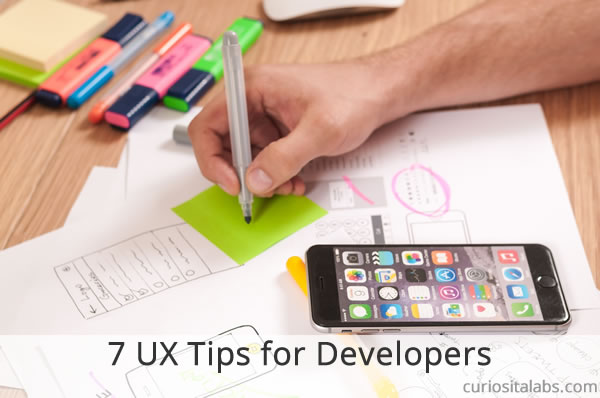 7 UX Tips for Developers