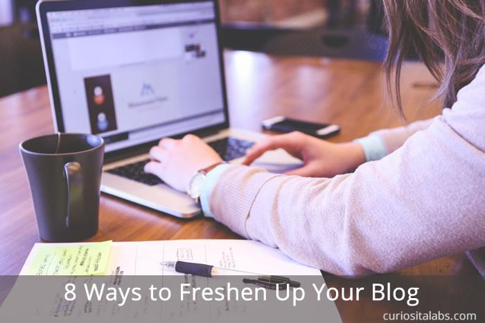 Freshen Up Your Blog