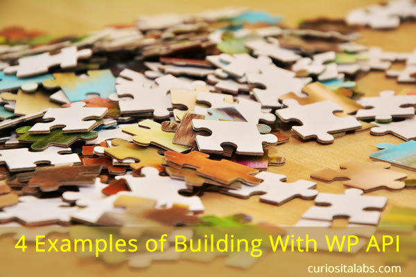 4 Examples of Building with WP API