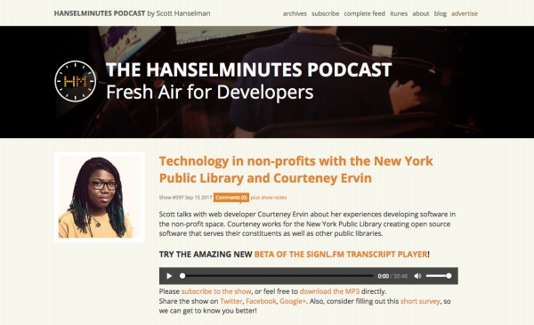 Hansel Minutes Podcast
