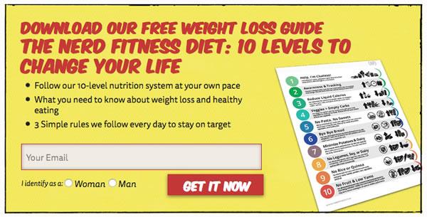Nerd Fitness CTA
