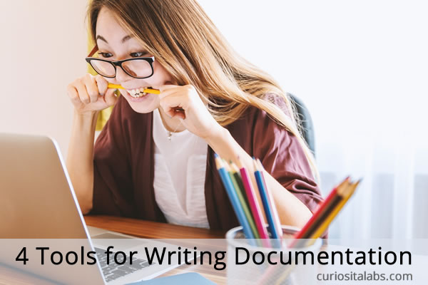 4 Tools for Writing Documentation