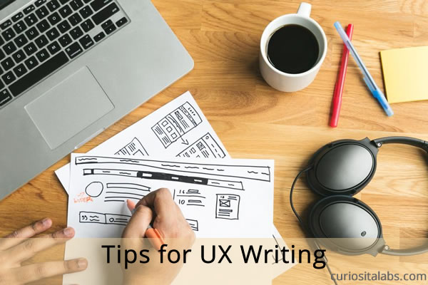 Tips for Ux Writing