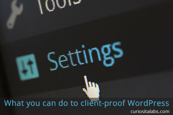 Client Proof WordPress