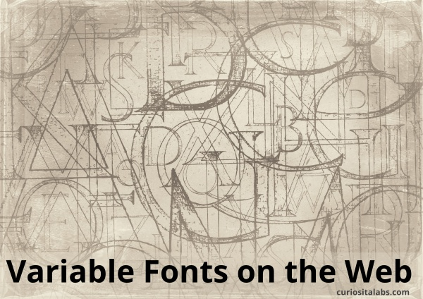 Variable Fonts on the Web