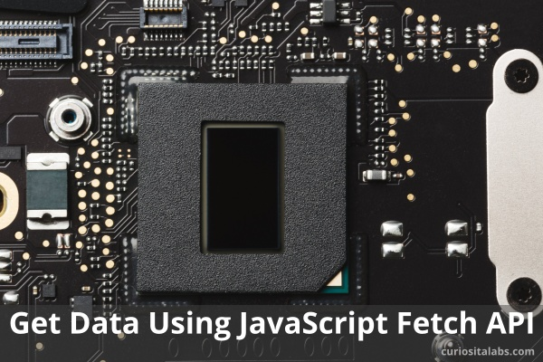Get Data Using JavaScript Fetch API - Curiosita Labs