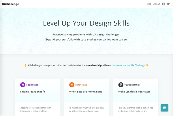UX Challenge Co Website