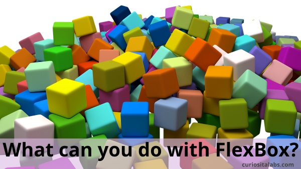 What can you do with flexbox