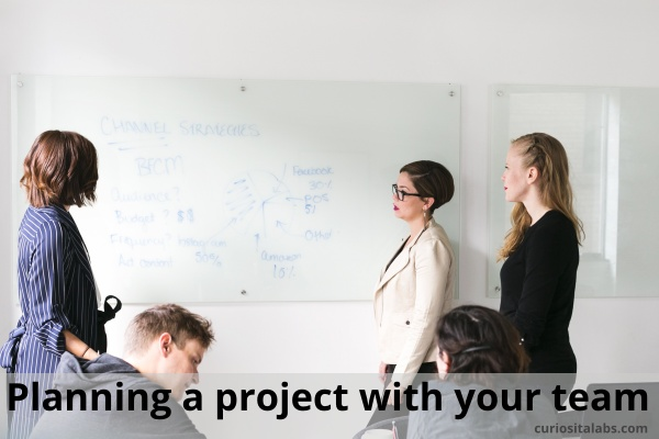 Planning a project with your team