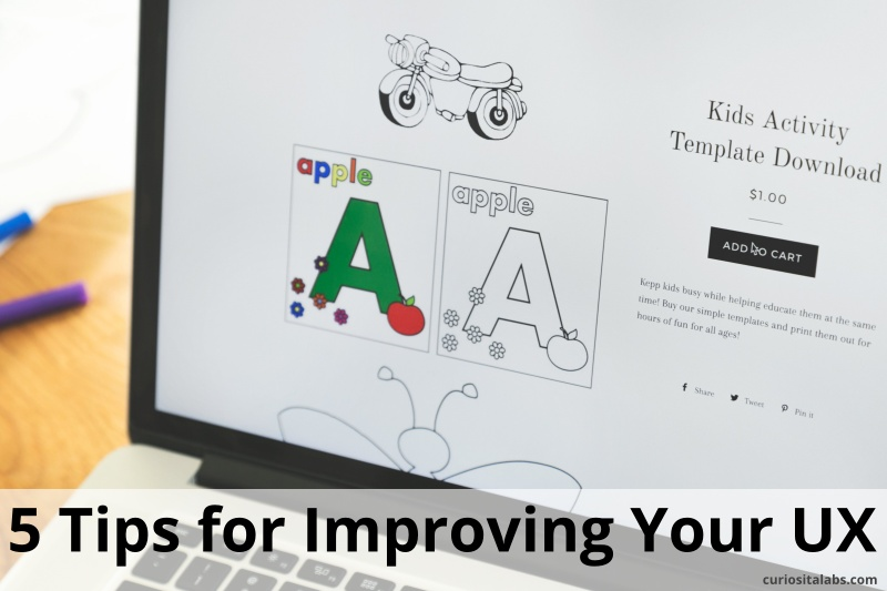 5 Tips for Improving UX Writing